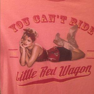 Miranda Lambert Tee | Size XS/S | Pink & Red